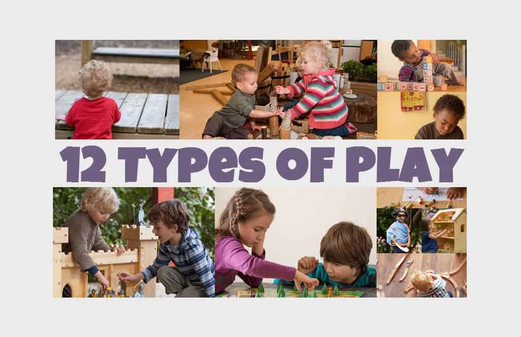 12 Types of Play Infographic - Famlii