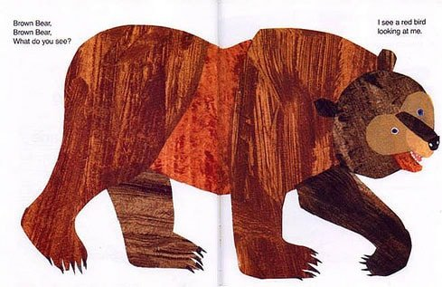 Brown Bear from Book
