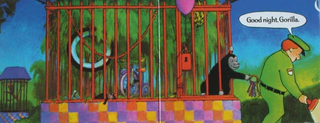 Good Night Gorilla Taking Keys