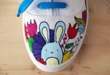 Shoe with Bunny Rabbit