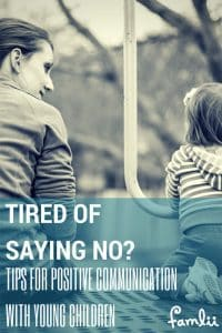 Pinterest Pin of Communication Tips for Toddlers
