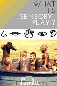 What is Sensory Play - Famlii