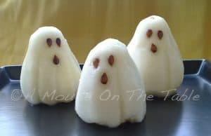 Pears shaped like ghosts