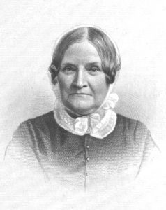 Writer Lydia Maria Child (1802-1880) wrote the poem 'Over the River'