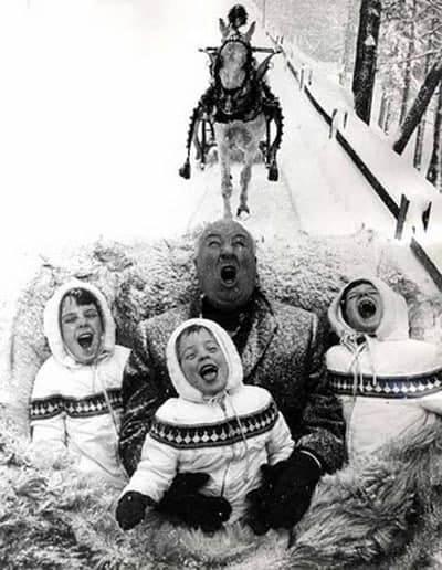 Singing in the Snow on Sleigh Ride