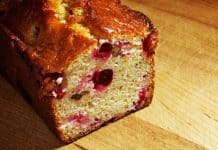 Orange Cranberry Bread Recipe from the Book Cranberry Christmas by Devlin