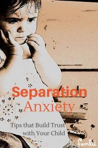 Dealing with Separation Anxiety in Young Children Pinterest