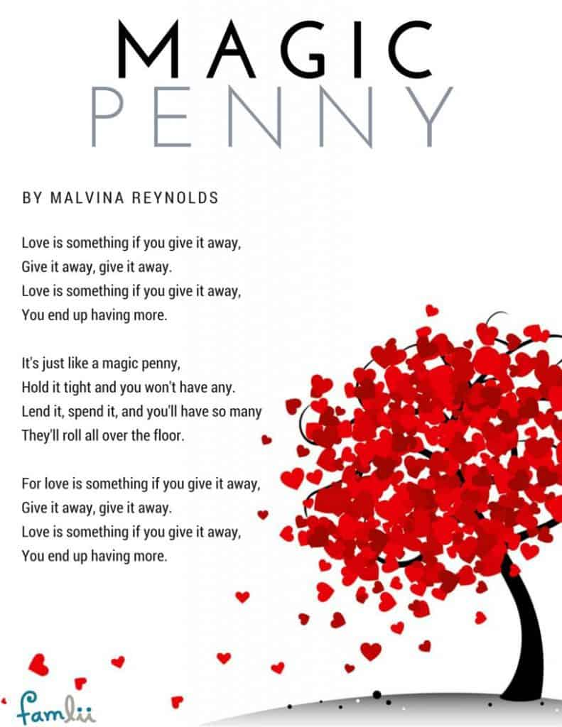 Love is Something By Malvina Reynolds
