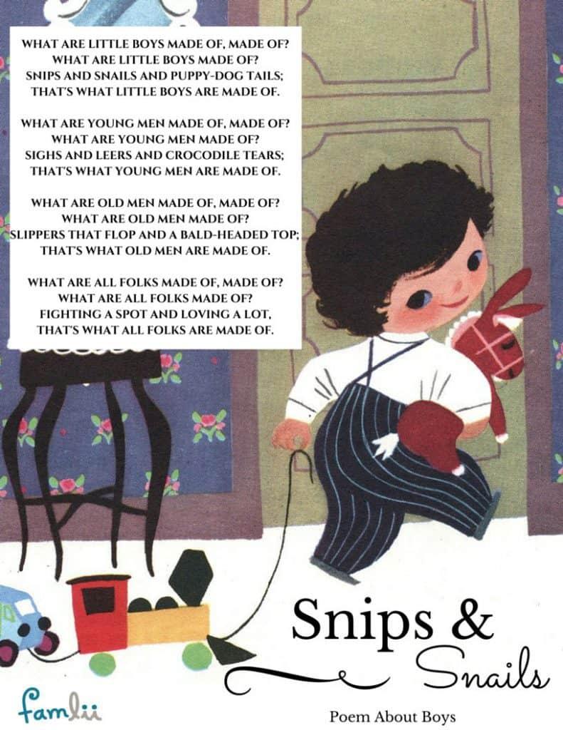 Poem about Little Boys