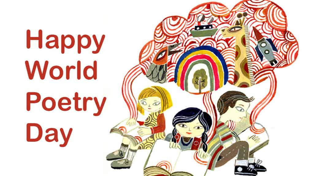 Image result for world poetry day 2019