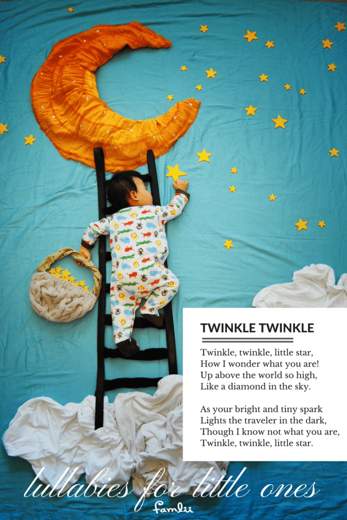 twinkle twinkle little star lyrics - famlii